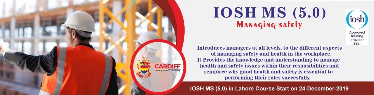 IOSH ms Course 24 December 2019